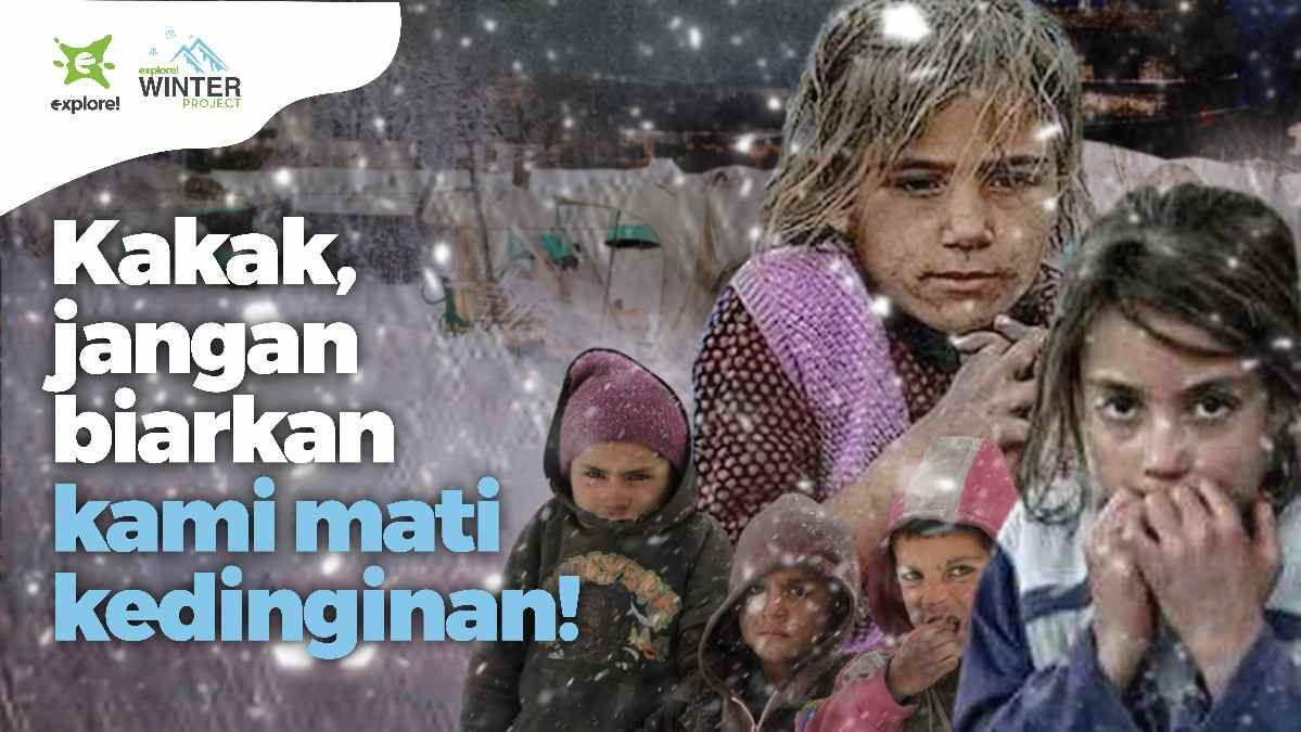 explore! Winter Project, Bantuan Musim Dingin untuk Gaza